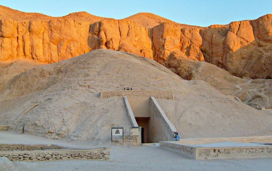 Гробница Тутанхамона в Долине Царей