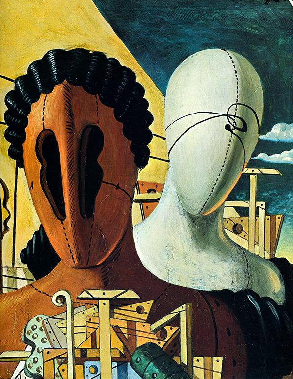 Две Маски. Джорджо де Кирико 1926