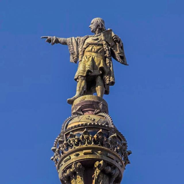 Христофор Колумб, памятник в Барселоне