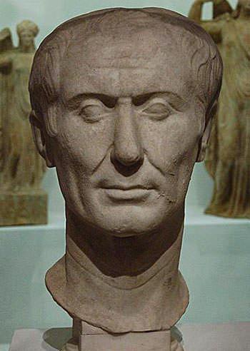 Портрет Тускулума - пожалуй, единственная сохранившаяся скульптура Юлия Цезаря, созданная при его жизни