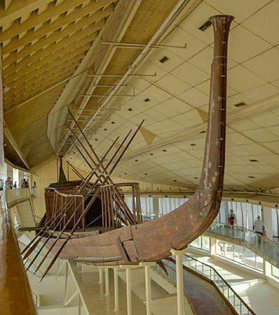 Реконструкция корабля Хуфу