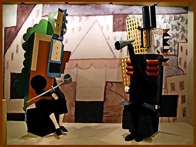 Балет парад Пабло Пикасо