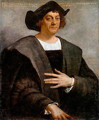 Посмертный портрет Христофора Колумба Себастьяно дель Пьомбо, 1519
