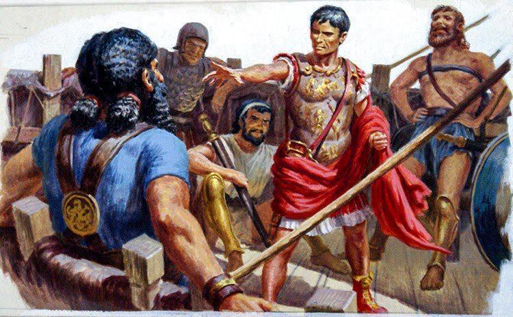 Похищение Цезаря пиратами