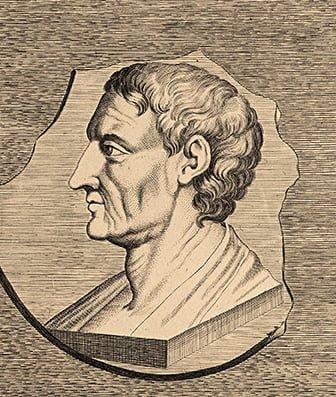 Аристотель, бюст