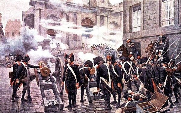 Восстание 13 вандемьера. Наполеон Бонапарт