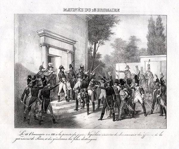 Встреча Бонапарта с генералами 18-го брюмера