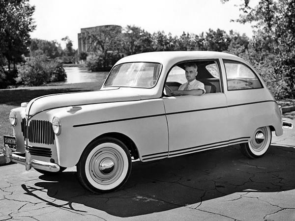 Автомобиль Генри Форда из сои
