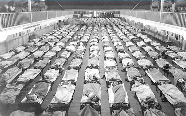 Пандемия испанки Первая мировая война