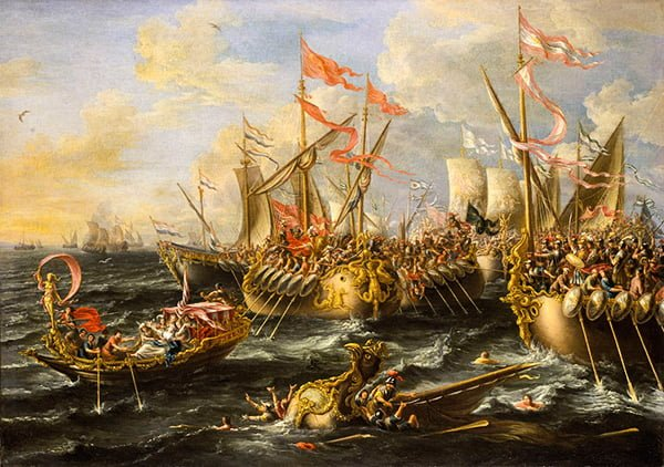 морском сражении при Акциуме