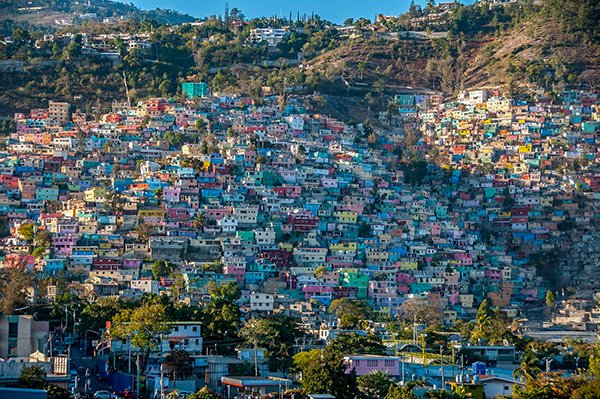 Порт-о-Пренс, столица Гаити