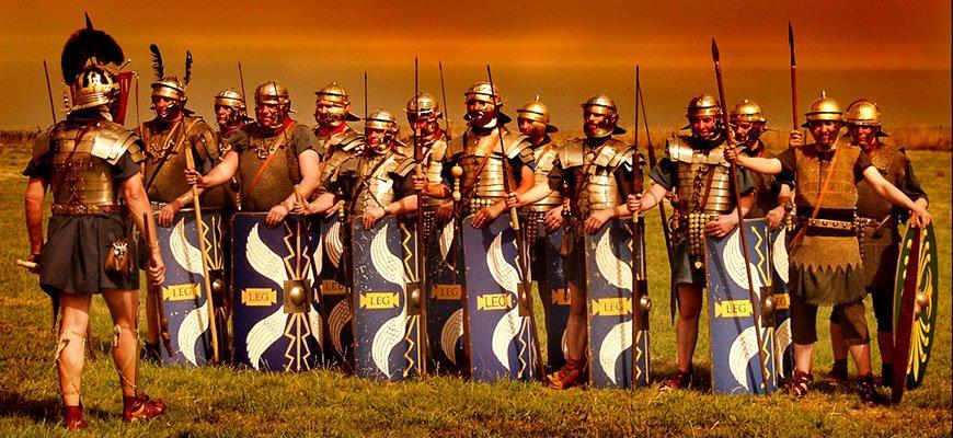 Древнеримские солдаты и 10 интересных фактов о них