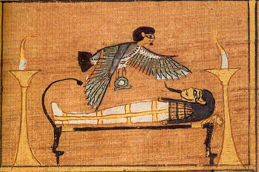 "дух смерти ""Ба"" мумификация"