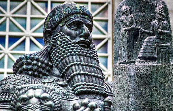Шестой правитель Первой династии Вавилона, Хаммурапи Вавилония