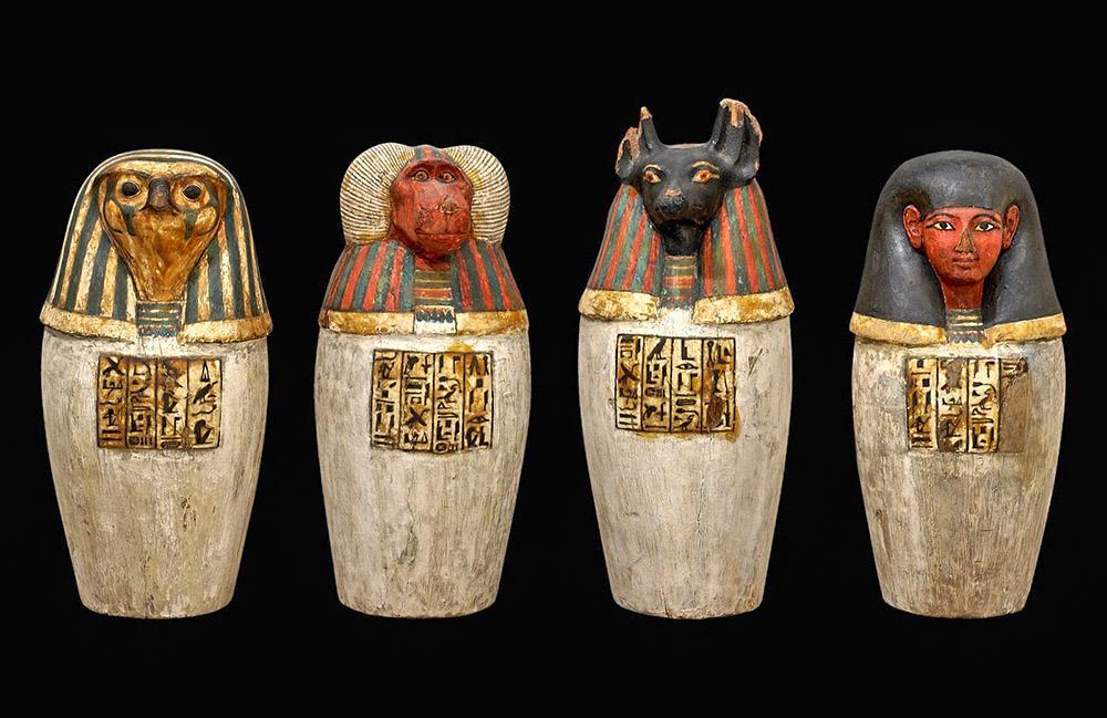 банки с канопой мумификация