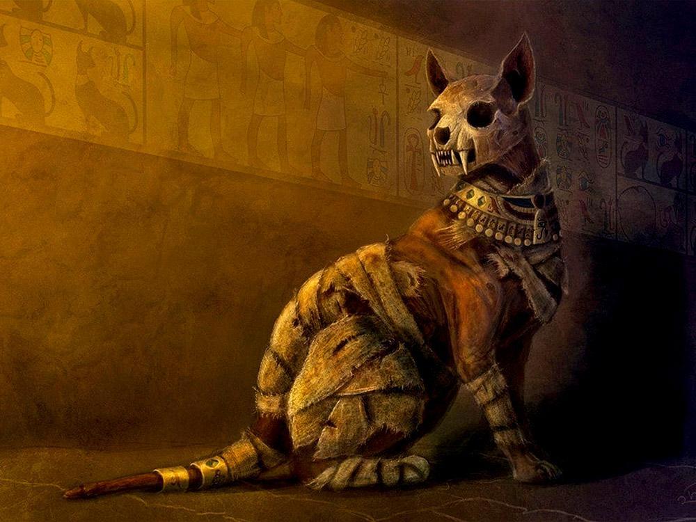 мумификация животных