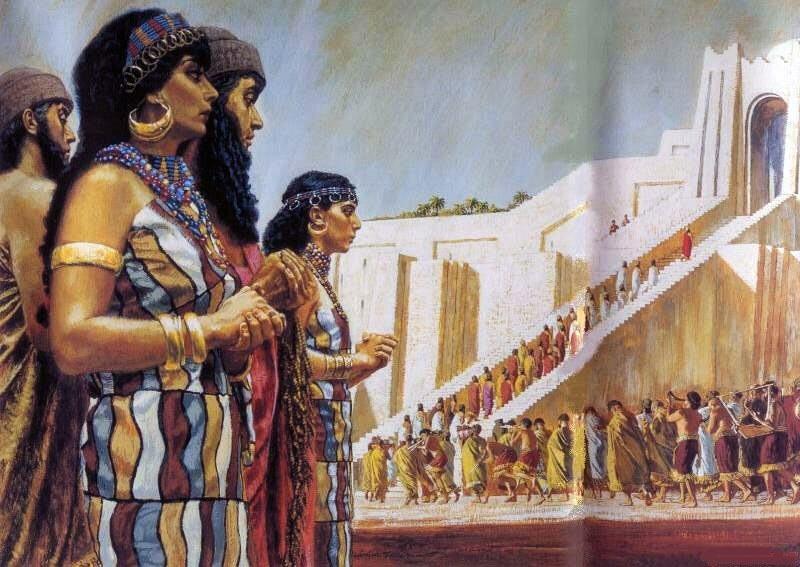 Шумеры Вавилония