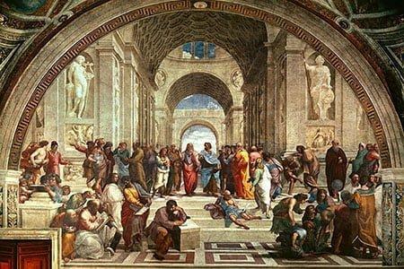 Афинская школа (1511) Эпоха Возрождения
