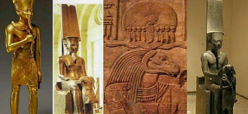амон царь египетских богов