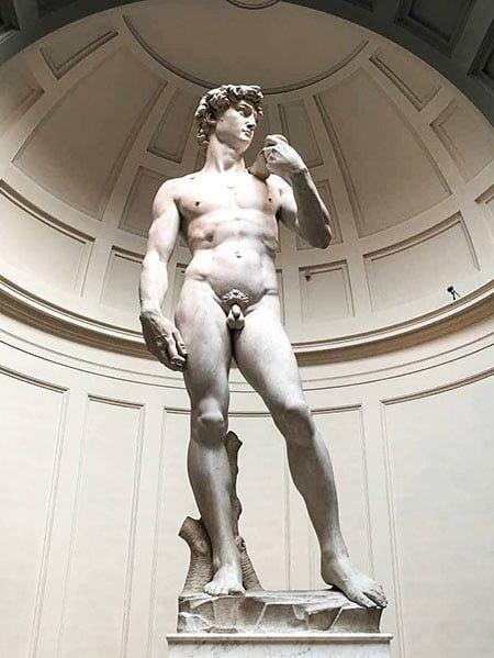 Давид (1504) Эпоха Возрождения
