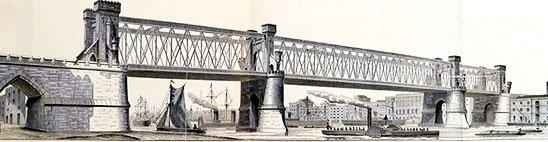 дизайн Д. Базальгетта Тауэрский мост в лондоне