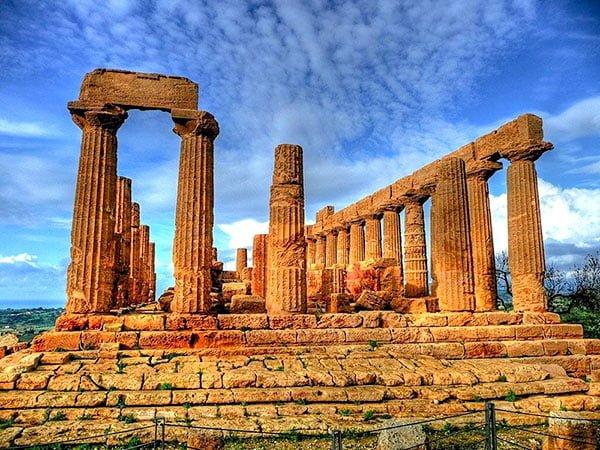 Храм Геры в Агридженто, Италия