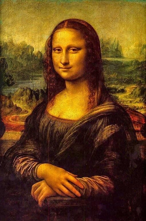 Мона Лиза, Леонардо да Винчи, 1517г.