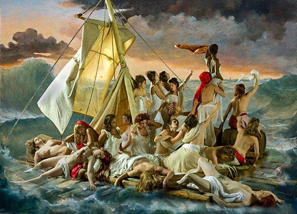 Плот Медузы, Теодор Жерико, 1819г.