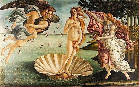 Рождение Венеры (1486)