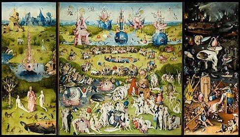 Сад земных наслаждений (1515) Эпоха Возрождения