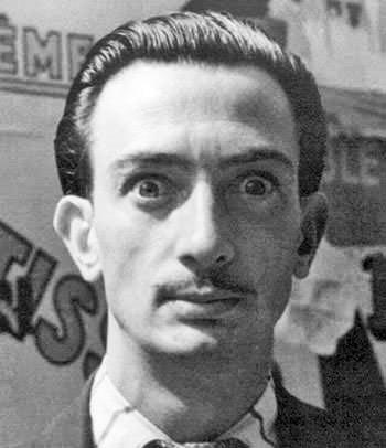 Сальвадор Дали в 1934 году