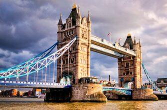 Тауэрский мост в Лондоне и 10 фактов о нем.