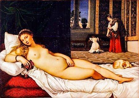 Венера Урбинская (1538) Эпоха Возрождения