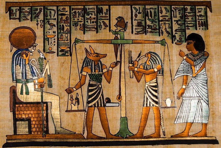Взвешивание сердца в Древнем Египте Мифы древнего Египта