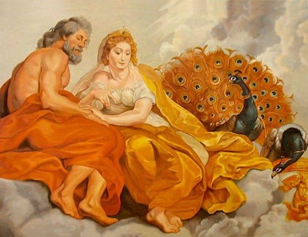 Зевс и Гера