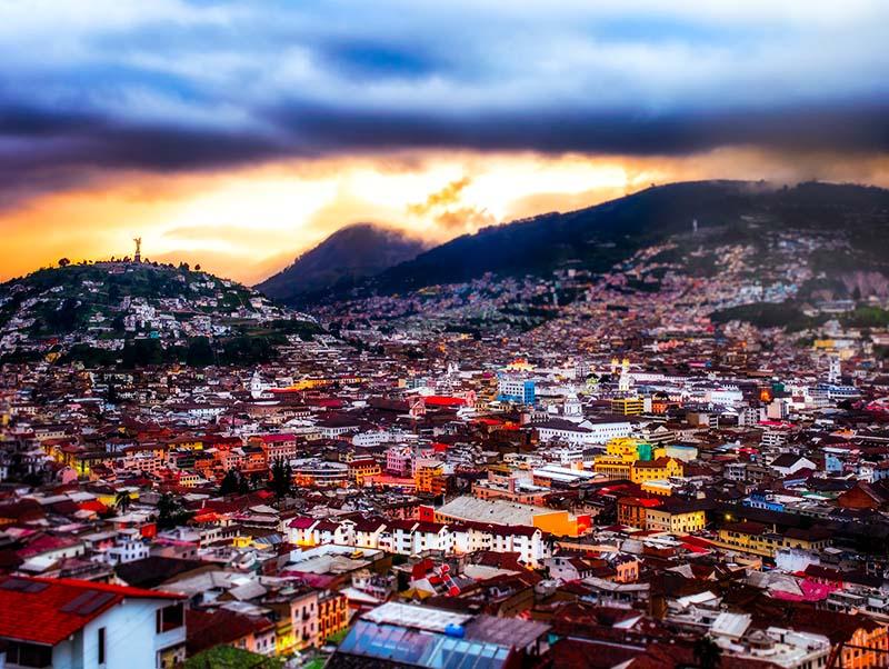 г. Кито, Эквадор