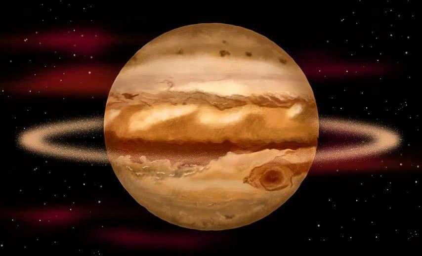 кольца юпитер