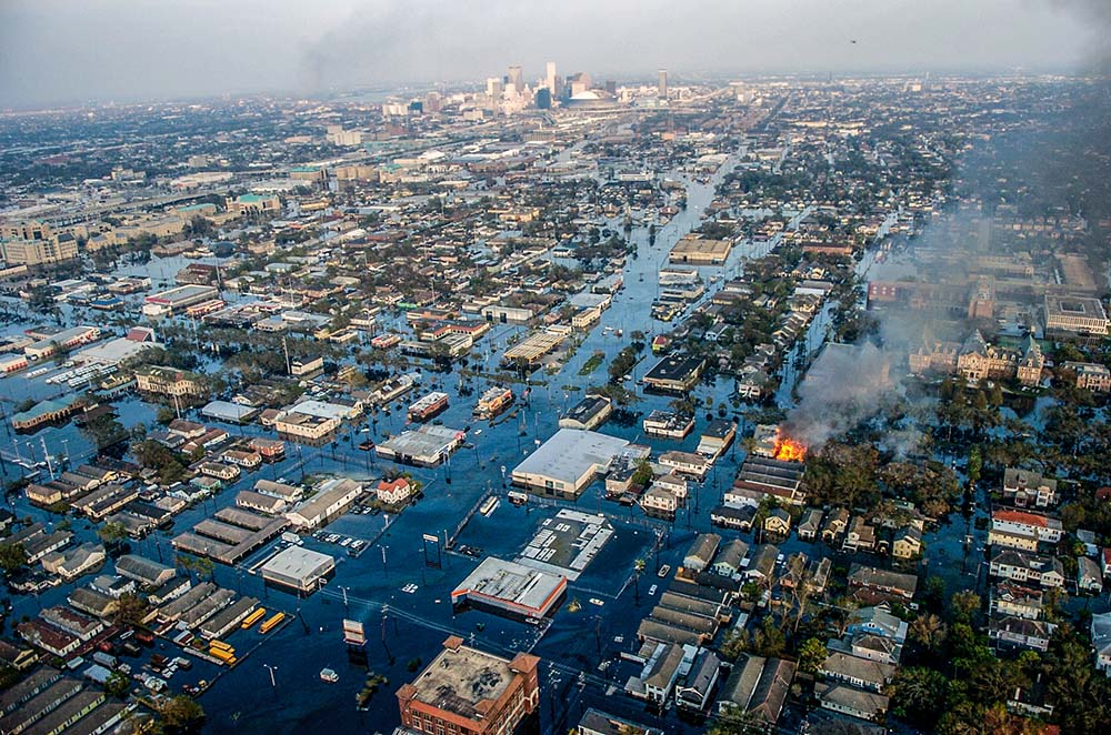 г. Новый Орлеан после урагана Катрина