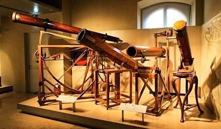 Первые телескопы, музей Галилео во Флоренции