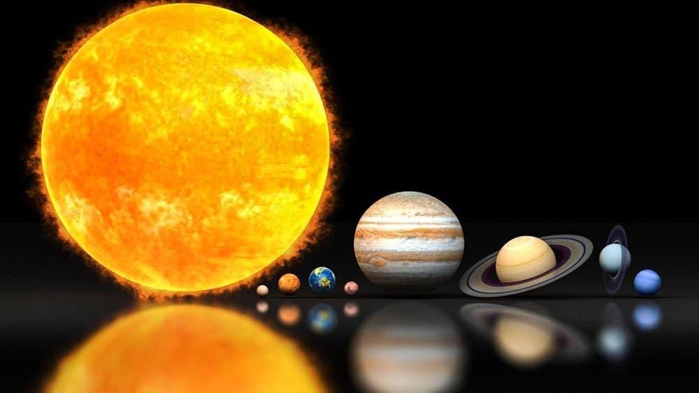 Планеты солнечной системы Юпитер