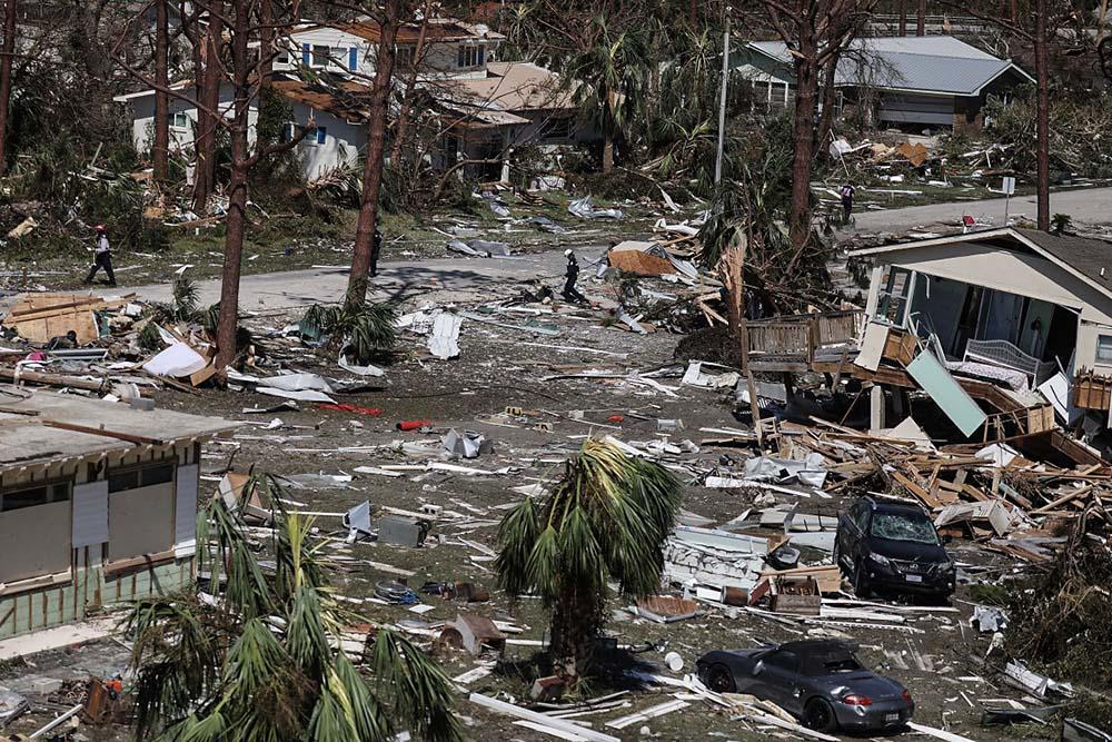 Разрушения после урагана Катрина, Флорида