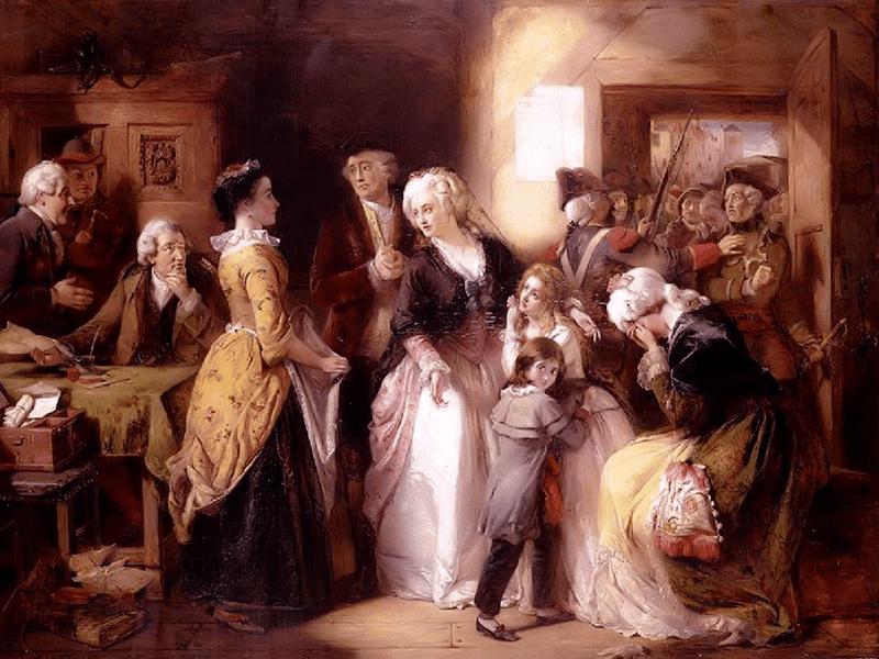 Арест Людовика XVI и его семьи в Варенне 21 июня 1791 года французская революция