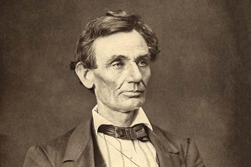 Авраам Линкольн без бороды