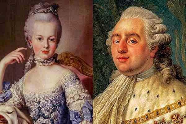 Людовик XVI и Мария Антуанетта