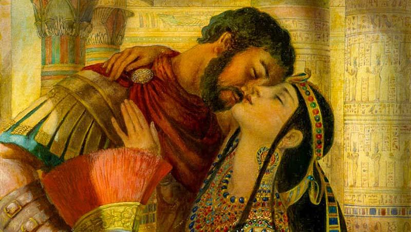 Марк Антоний и Клеопатра