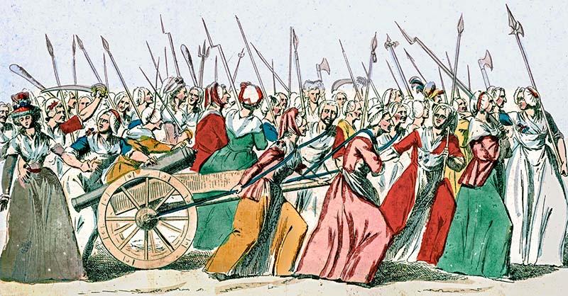 Женский марш в Версале, главное событие французской революции