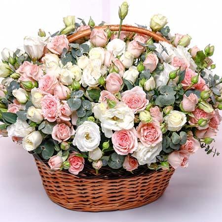 Букет роз на день святого валентина