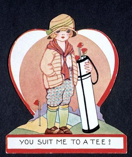 Валентинка 1920-х годов День Святого Валентина