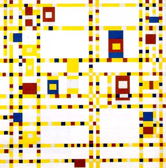 Бродвейские буги-вуги (1943) - Пит Мондриан абстракционизм