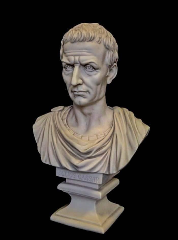 бюст Юлия Цезаря Марк Антоний